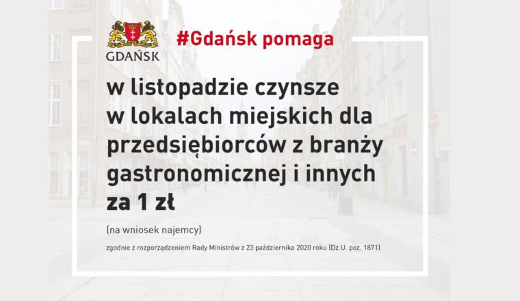 Gdańsk ponownie pomaga przedsiębiorcom dotkniętym skutkami epidemii